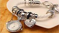 Женские часы-браслет в стиле Пандора (Pandora)