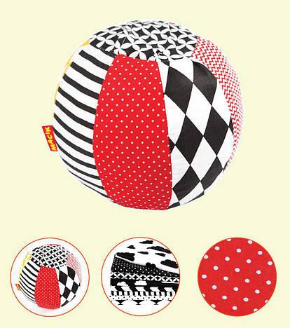 Погремушка-мячик мягкая игрушка Macik