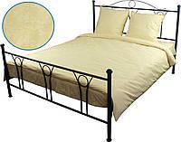 Комплект постельного белья из бязи, двуспальный.