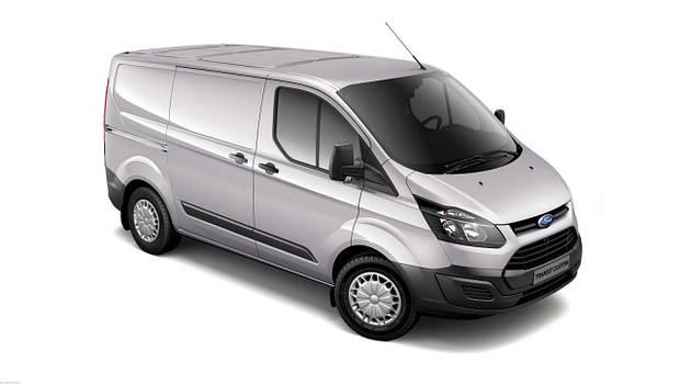 Лобовое стекло Ford Transit Custom с молдингом (2013-)