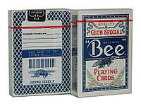 Карты покерные Bee с пчелой синие