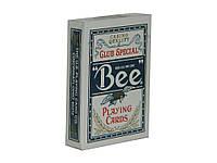 Карты покерные Bee Standard синие