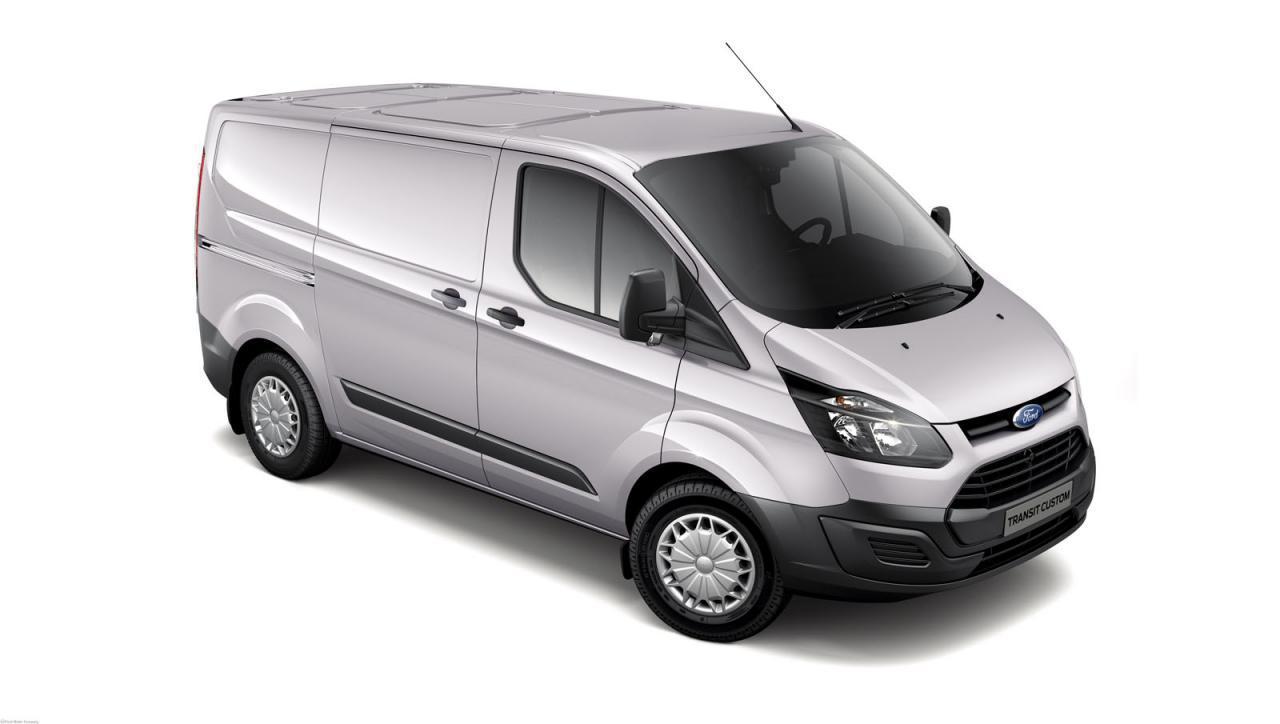 Лобовое стекло Ford Transit Custom с местом под датчик (2013-)