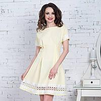 """Летнее платье нарядное желтое """"Клеменс"""", фото 1"""