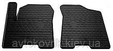 Резиновые передние коврики в салон Infiniti QX80 2013- (STINGRAY)