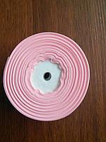 Лента репсовая ширина 2,5 см цвет - нежно розовый