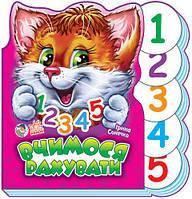 Вчимося рахувати (укр) Книжка-картонка з серії Вчимося разом Ранок