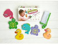 Набор детских мини-ковриков для купания в ванной KinderenOK (060917)