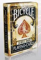 Карты Bicycle Vintage 1800 Blue от Ellusionist