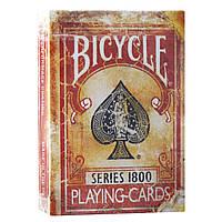 Карты Bicycle Vintage 1800 Red от Ellusionist