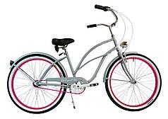 Городской велосипед Cruiser 26 '' PINK ROYALBI women