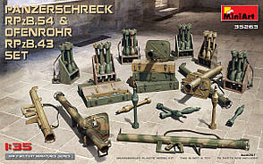 Набор Немецких противотанковых гранатомётов. 1/35 MINIART 35263