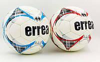 Мяч футбольный ERREA размер 4 белый (5 сл., сшит вручную)