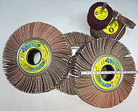 Круги лепестковые Р150 ЗАК 150*30*32 шлифовальный диск КШЛ