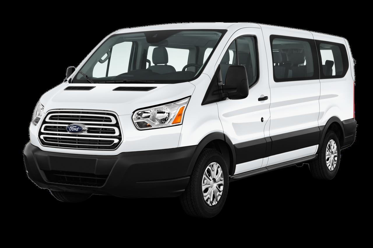 Лобовое стекло Ford Transit (Low) с местом под датчик, камеру и молдингом (2014-)