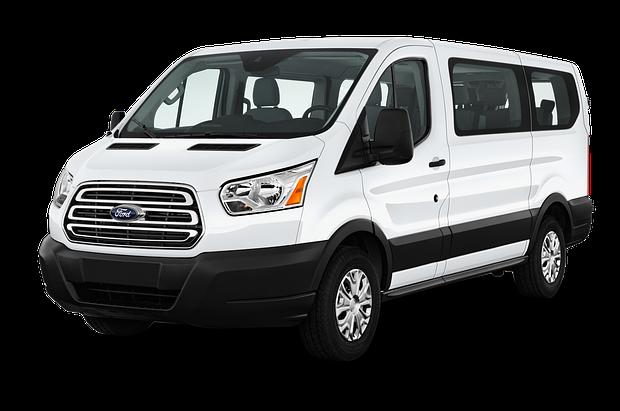 Лобовое стекло Ford Transit (Low) с местом под датчик, камеру (2014-)