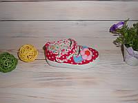 Текстильные мокасины для девочки р21,24,25 Тм Bluerama