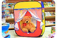 Детская игровая палатка домик ( куб ). Ребенок сможет комфортно играть в просторной палатке.