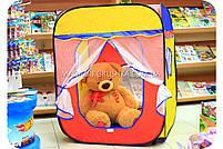 Детская игровая палатка домик ( куб ) 1402. Ребенок сможет комфортно играть в палатке., фото 6