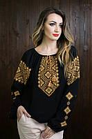 Красивая женская вышитая блузка   311