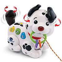 VTech Pull and Sing Puppy Развивающая интерактивная музыкальная игрушка собачка щенок Vtech витеч 80-502800
