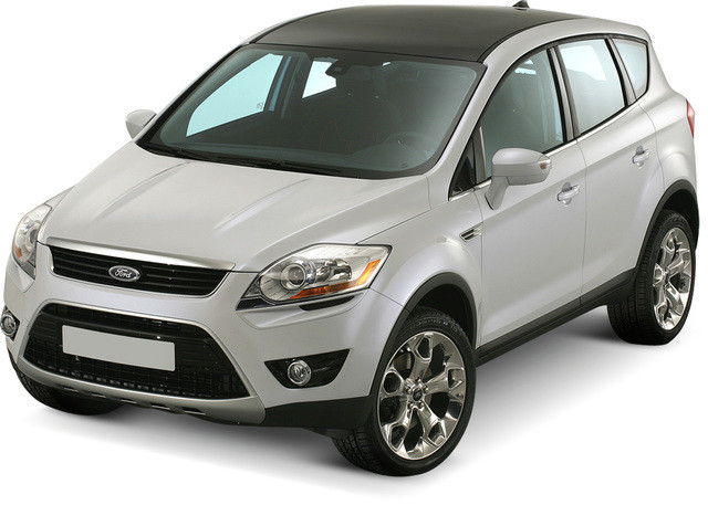 Лобовое стекло Ford Kuga с молдингом  (2008-2012)