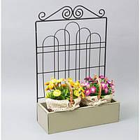Подставка под цветы JK47, декор для сада, декорирование сада, аксессуары для сада