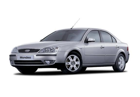 Лобовое стекло Ford Mondeo с молдингом (2000-2007)