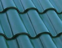 КЕРАМИЧЕСКАЯ ЧЕРЕПИЦА COBERT LOGICA ONDA ESMERALDA, BLUE COBALT, фото 1