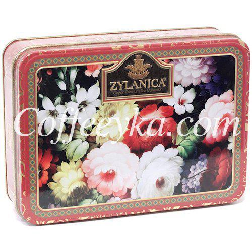 """Чай черный Zylanica """"Red"""" Super Pekoe 100 гр. ж/б"""