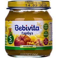 Пюре овощное детское BEBIVITA Бебивита Тыква 100 г