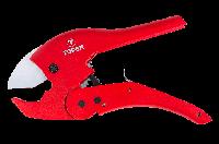Topex Труборез для пластиковых труб ПВХ, ПЭ, ПП 0 - 42 мм (1.5, 8) вес 590 г