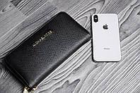 Фирменный Портмоне Michael Kors черный реплика, фото 1