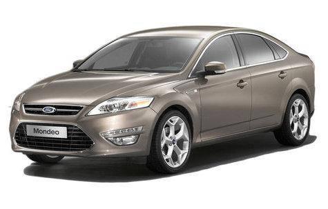 Лобовое стекло Ford Mondeo с молдингом (2007-2014)