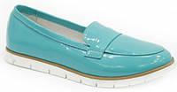 Туфли женские из натуральной лаковой кожи от производителя модель ДС - 26