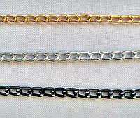 6901 Цепь декор 0,5 см (разные цвета)