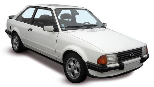 Лобовое стекло FORD Escort MK III/Orion (1981-1990)