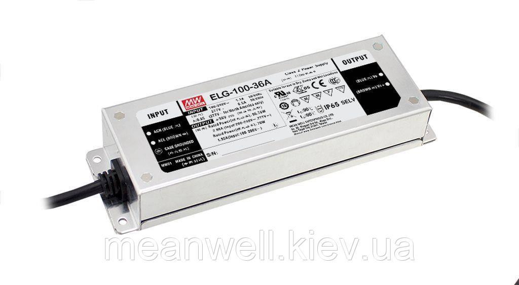 LED драйвер DALI Mean Well ELG-100-36DA