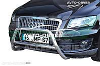 Кенгурятник без гриля Audi Q5 2008-2012 (Тамсан)