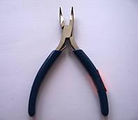 Плоскогубцы - круглогубцы с изогнутыми концами 120 мм