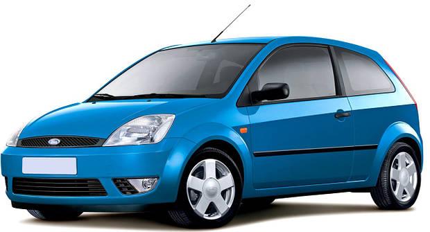 Лобовое стекло Ford Fiesta МК V 5 D (2002-2008)