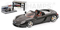 PORSCHE CARRERA GT BLACK TOP GEAR POWER LAPS. 1/43 MINICHAMPS 519436260