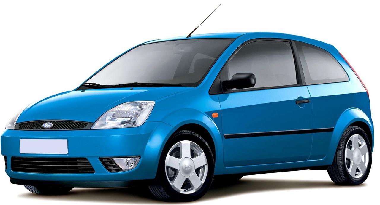 Лобовое стекло Ford Fiesta МК V 5 D с молдингом (2002-2008)
