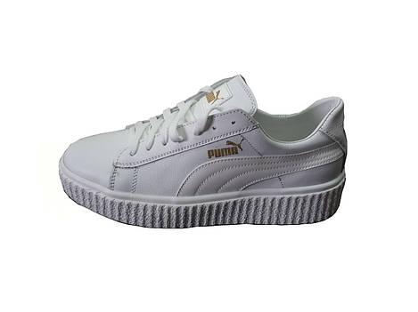 Женские кроссовки Puma  Rihanna осень весна  белый(кожа)