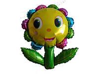 Шар большой воздушный из фольги Цветок