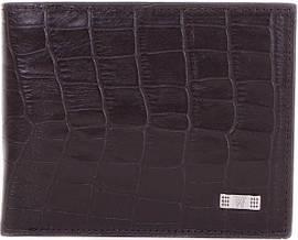 bb5fb3411fd4 Мужской кошелек с фактурой кожи под рептилию WANLIMA W22522870903-black