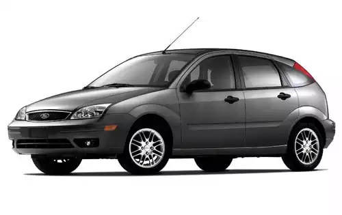 Лобовое стекло Ford Focus с молдингом (2005-2011)