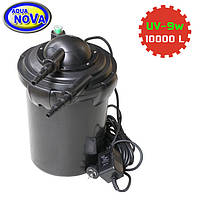 Напорный фильтр для пруда AquaNova NPF-20 УФ-лампа 9Вт