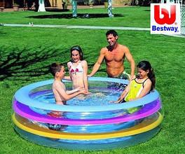 Бассейн надувной круглый детский Bestway 51028