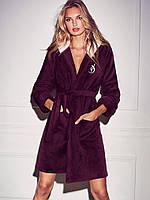 ХалатThe Cozy Hooded Short RobeVictoria`s Secret р.XS